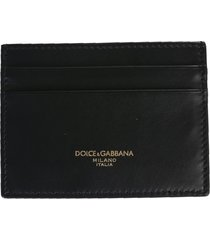 dolce & gabbana card holder with logo