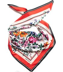 vince camuto flower power square scarf