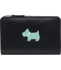radley london applique leather wallet
