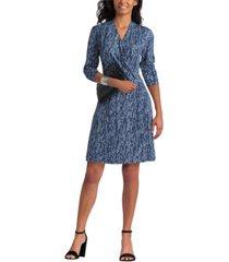 women's surplice dress