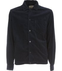 aspesi bongo velvet elastic shirt