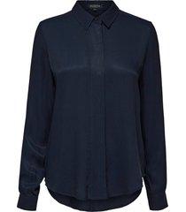 blouse arabella donkerblauw