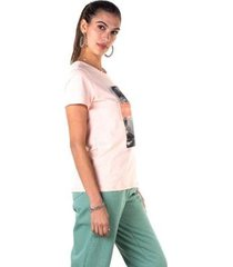 camiseta rovitex feminina - feminino