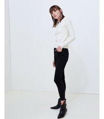 motivi jeans skinny push up modello gisele nero donna nero