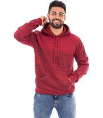 blusã£o de malha com bolso sumarã© 10427 vermelho - vermelho - masculino - acrãlico - dafiti