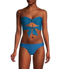 ribbon bandeau bikini top