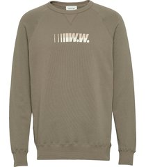 hester sweatshirt sweat-shirt trui groen wood wood