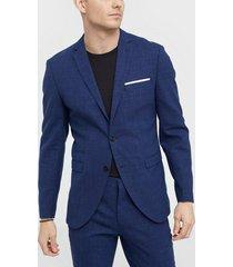 selected homme slhslim-oasis blue blz b kavajer & kostymer mörk blå