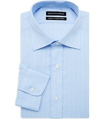 classic-fit tonal check dress shirt