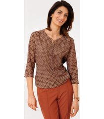 blouse mona oranje::terracotta