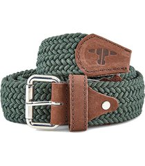 cinturón elástico cristina verde juan becerra