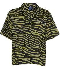 utah shirt overhemd met korte mouwen groen résumé