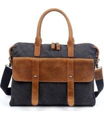 tsd brand women's computer canvas briefcase