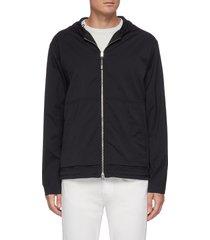 'haksel' zip up hoodie