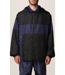 versace jacket la greca versace nylon jacket