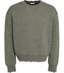 john elliott ribbed crew-neck sweater