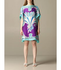 emilio pucci dress emilio pucci kaftan dress with corisco pattern