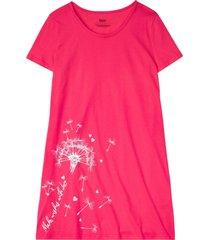 camicia da notte in cotone biologico (fucsia) - bpc bonprix collection