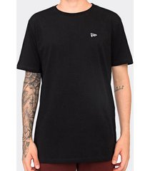 camiseta new era básico essentilas preta masculina