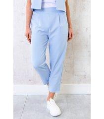 pantalon parisienne 7/8 babyblauw