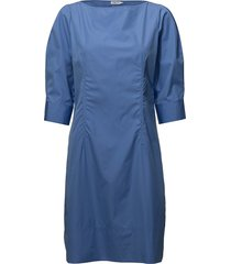 poplin dress kort klänning blå filippa k