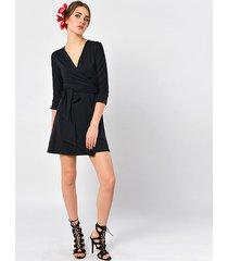 kava-kava - kopertowa sukienka mini