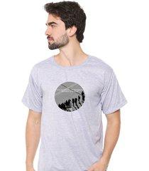 camiseta sandro clothing moment cinza - cinza - masculino - dafiti
