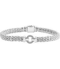 women's lagos enso boxed circle station caviar rope bracelet