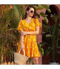 vestidos ajustados de manga corta para mujer vestido floral vestido mujer