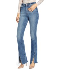 women's dl1961 bridget high waist split hem bootcut jeans