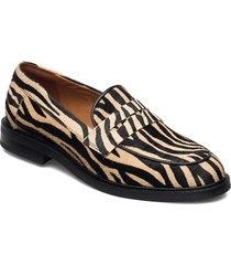 shoes 4110 loafers låga skor brun billi bi