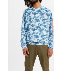 levi's men's oversized crewneck sweatshirt