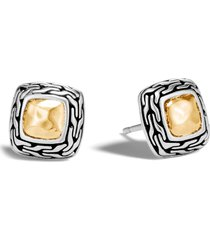 john hardy heritage stud earrings in silver/gold at nordstrom