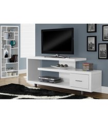 """monarch specialties 60"""" l tv stand"""