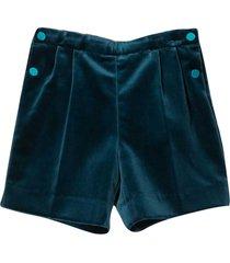 gucci avio green shorts