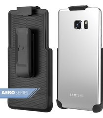 samsung galaxy note 5 spring clip belt holster - case free design (encased