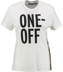 replay one off stevig off white shirt