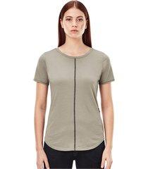 adjustable back slim fit t-shirt