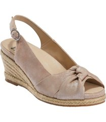 earth women's thara bermuda sling back espadrille sandal women's shoes