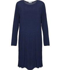 tiffany tiffany viskosklänning marinblå, 16539