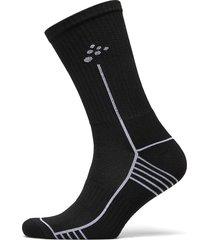 progress mid sock underwear socks regular socks svart craft