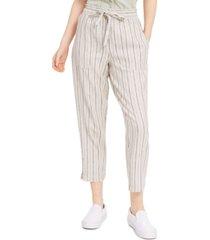 indigo rein juniors' striped pull-on pants