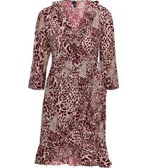 omlottklänning vmamsterdam henna 3/4 wrap dress