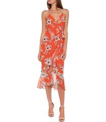 bardot loretta midi dress