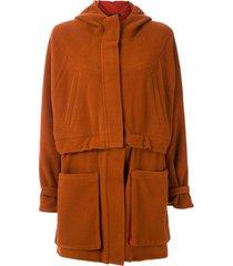 uma   raquel davidowicz casaco drexter de lã - marrom
