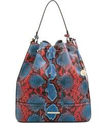brahmin marlowe leather shoulder bag