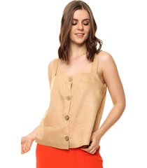 blusa camel portsaid ohnest