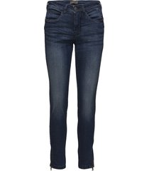 potan 1 jeans skinny jeans blå fransa