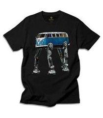 camiseta cool tees kombi wars masculina
