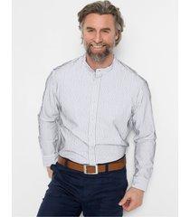 overhemd met opstaande kraag